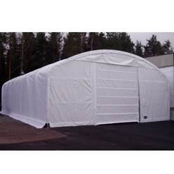 Rhino Shelter Commercial Domed Truss Building 40x60x18